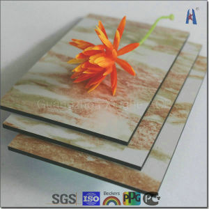 Chinese Popular and Cheapest Marble Aluminum Composite Sheet/Panel/Board pictures & photos