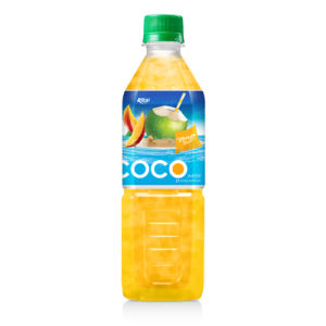 Manufacturers Coconut Water with Mango Flavor 500ml Pet Bottle pictures & photos