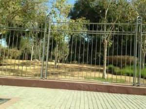 Steel Tubular Garden Fencing Panel pictures & photos