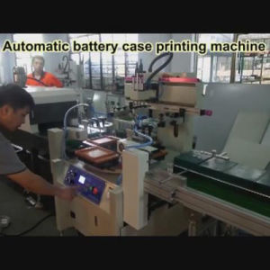 Automatic Screen Printer for Storage Battery Casae pictures & photos