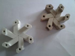 Customized POM Food Processing Engineering Plastic Parts pictures & photos