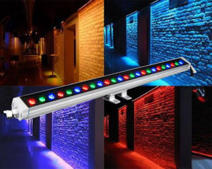 DMX Auto Indoor Outdoor Waterproof Linear LED Wall Washer Light