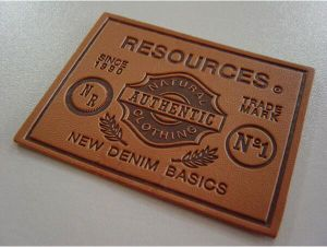 Garment Clothing Accessories Leather Label pictures & photos