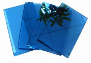 4-6mm High Quality Blue Reflective Glass with CE&ISO9001