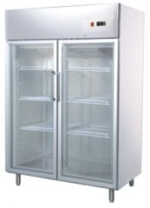2 Glass Door Upright Fridge pictures & photos