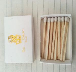 White Head Lion Match/ Zebra Match /Customized Safety Match pictures & photos