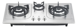 S. S Panel Gas Hob (BT3-8201)