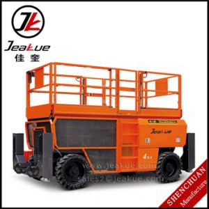 Cross-Country Scissor Lift Aerial Work Platform for Sale pictures & photos