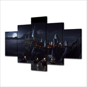 HD Printed School Castle Painting Canvas Print Room Decor Print Poster Picture Canvas Mc-021 pictures & photos