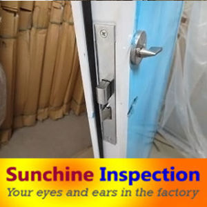 Steel Security Door Quality Inspection and Testing /Quality Control Service / Third Party Inspection Services pictures & photos