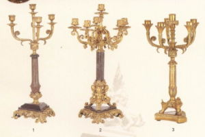Candleholder, Bronze, Marble Assorted pictures & photos
