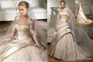 Wedding Gown&Bridal Dress&Wedding Dress (KB1076)