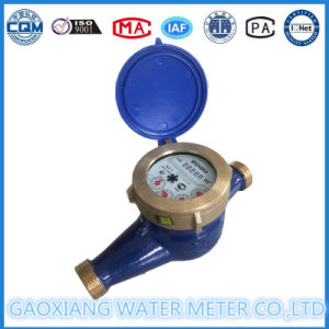 Residential Plastic Water Flow Meter pictures & photos
