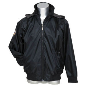 Men′s Casual Sprint Softshell Jacket with Hood pictures & photos