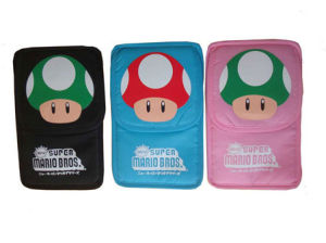 Ndsi Mario Bag (Black, Pink and Blue)