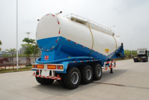 46.5cbm Bulk Powder Tanker Semi Trailer pictures & photos