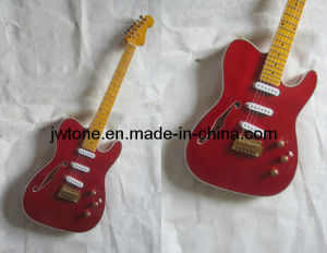 Jw-Tt085 Metalic Transparent Color Tele Electric Guitar pictures & photos