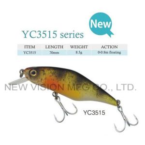 Hard Plastic Lures Wobbler Fishing Lure pictures & photos