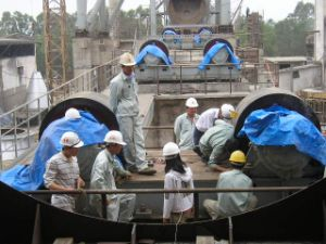 1500tpd Cement Production Line/Rotary Kiln pictures & photos