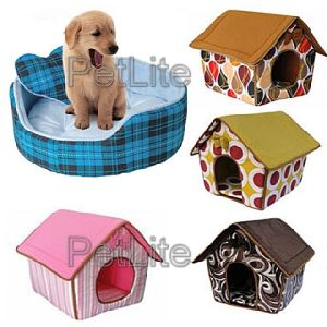 Fabric Pet Bed / Dog House (PLH5184)