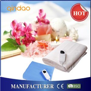 Automatic Timer Electric Heated Underblanket with Over Heating Protection pictures & photos