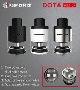 Newest Tank Kanger Rota Atomizer with 4.0ml Capacity pictures & photos