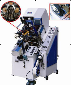 Shoe Making Machine / Hydraulic Cementing Toe Lasting Machine (ABQF-737MA)