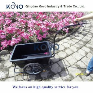 90L Bicycle Trailer Cart with Plastic Tray pictures & photos
