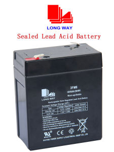6V6ah Sealed Rechargeable Lead-Acid Battery pictures & photos