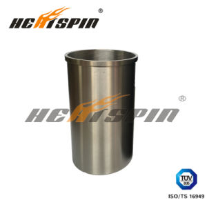 Cylinder Liner/Sleeve 6D16 White Color with Flange for Mitsubishi Engine Part pictures & photos