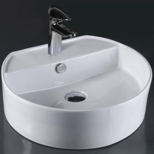 Unique Porcelain Bathroom Vessel Sink (6083) pictures & photos