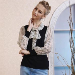 Fashion Ladies′ Shirt 11s155