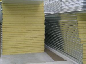 Color-Coated Steel Sandwich Panel pictures & photos