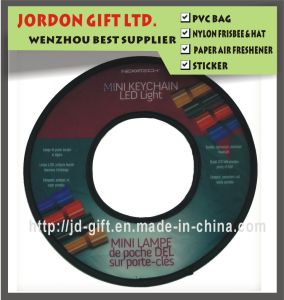 Cheap Advertising Polyester Folded Frisbee pictures & photos
