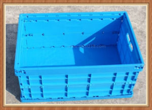 Good Quality Plastic Collapsible Folded Packing Box with OEM Service pictures & photos