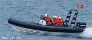 White and Blue High Speed Rib Boat (Ha850)