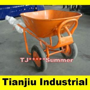 100 L Wb8600 Heavy Duty Foamed Tire Wheelbarrow pictures & photos