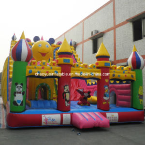 Crazy Mickey Inflatable Jumping Bouncy Slide for Amusement Park (CYSL-551) pictures & photos