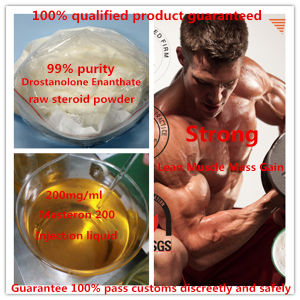 99% Purity Muscle Buidling Steroid Powder Masterone Drostanolone Enanthate