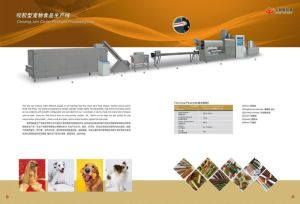 Pet/Animal/Dog Chewing Food Processing Line (SX3000-100)