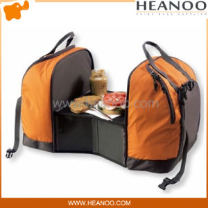 Camping Outdoor Folding Small Portable Meal Picnic Table Bag Backpack pictures & photos