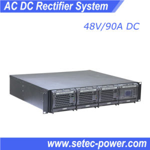 220VAC to 24/48VDC Rectifier, Battery Bank Charging, Telecom Power Supply