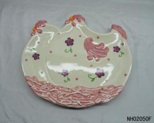 Christmas Ceramic Plate