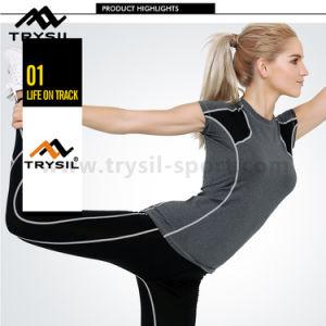 Lady Sport T Shirt Women Gym Shirts Fitness Tops