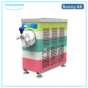 Oceanpower Mini Ice Cream Making Machine Sunny-A6, Small Ice Cream Machine for Home pictures & photos
