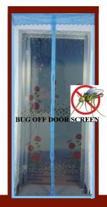2013 New Buzz off Screens Door Nets with Magnetics