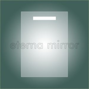 T5 Fluorescent Backlit Vanity Mirror IP44 for Bathroom W50xh70cm