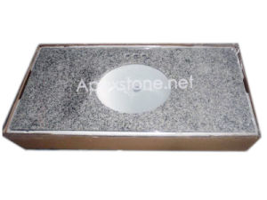 G655 White Granite Vanity Top