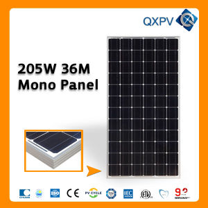 36V 205W Mono Solar Panel (SL205TU-36M) pictures & photos
