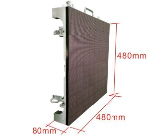 Chipshow Castaluminium High-Density P4.8 Indoor Full Color LED Display pictures & photos